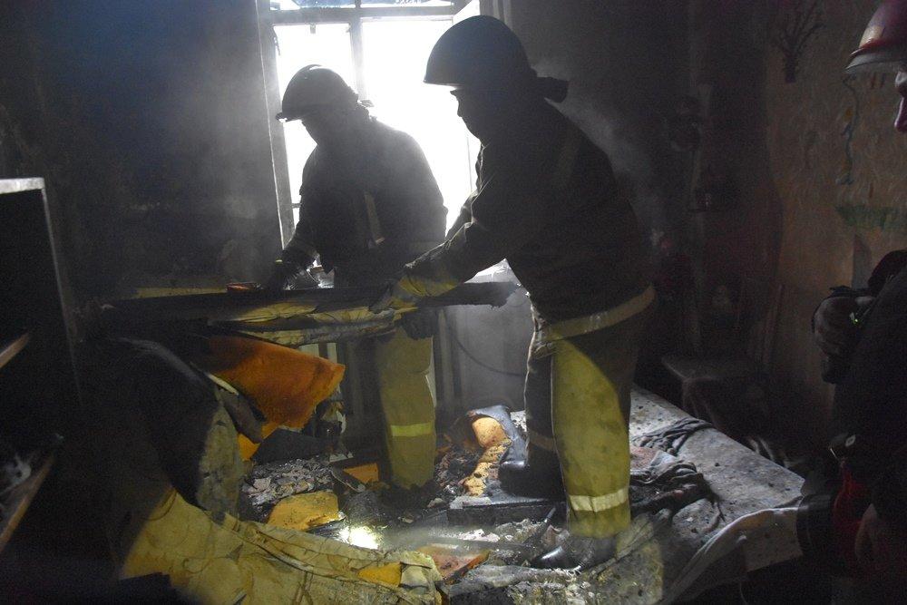 Пожар в Одессе сегодня: спасли кота, - ФОТО2