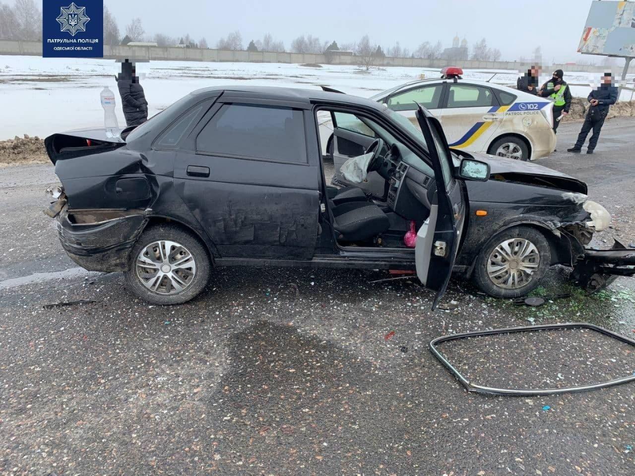 Четыре авто, в том числе Ягуар: в Одессе произошло масштабн..., фото-33