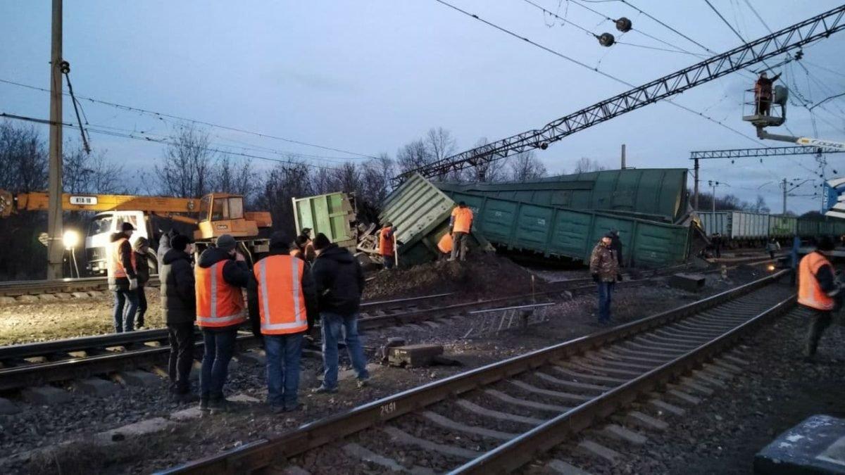 Поезд Одесса-Константиновка задержится из-за аварии в Днепропетровской области, - ФОТО1