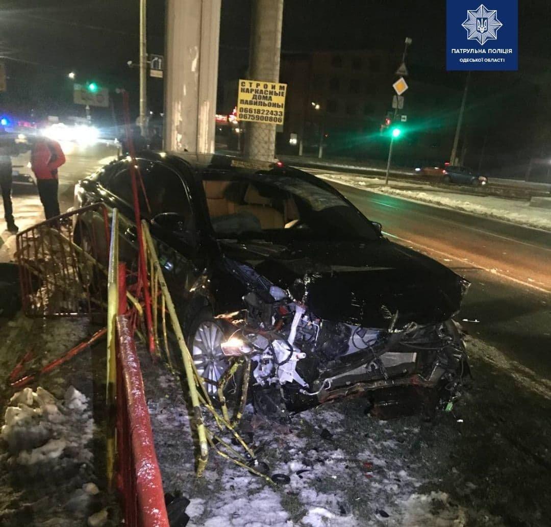 В Одессе по вине пьяного водителя произошло тройное ДТП, есть пострадавшая, - ФОТО, фото-1