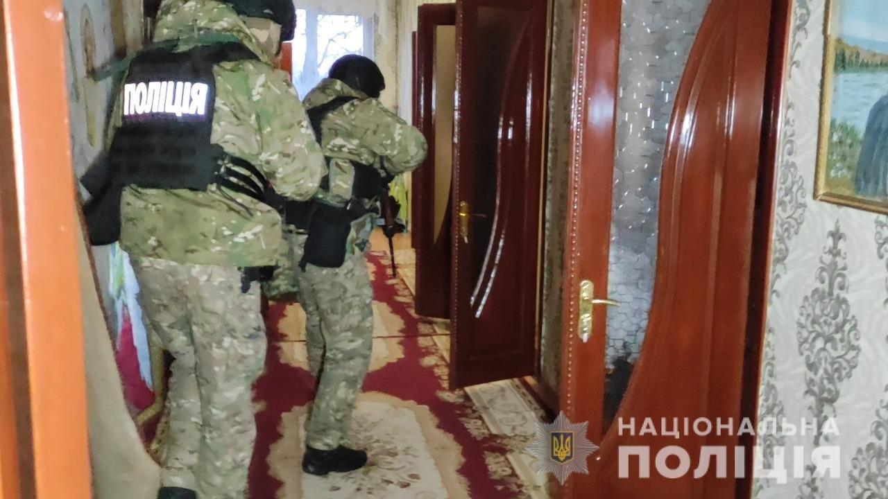 В Одесской области задержали наркодилеров.