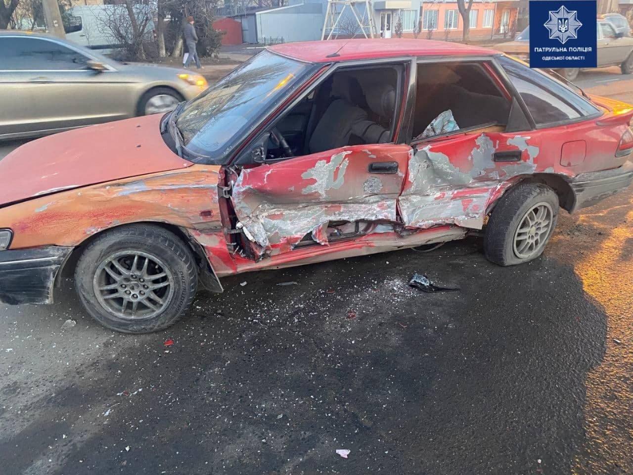 """В Одессе столкнулись две """"Тойоты"""", постарадал ребенок, - ФОТО, фото-2"""