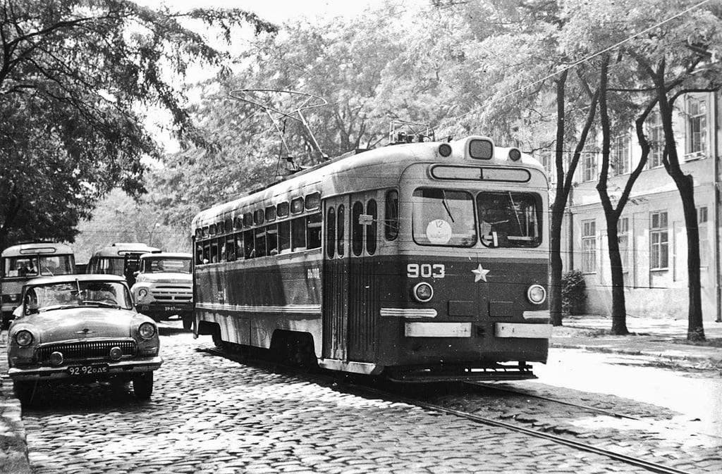 Старая Одесса и трамвайчики: подборка фотографий, сделанных много лет назад, - ФОТО, фото-1
