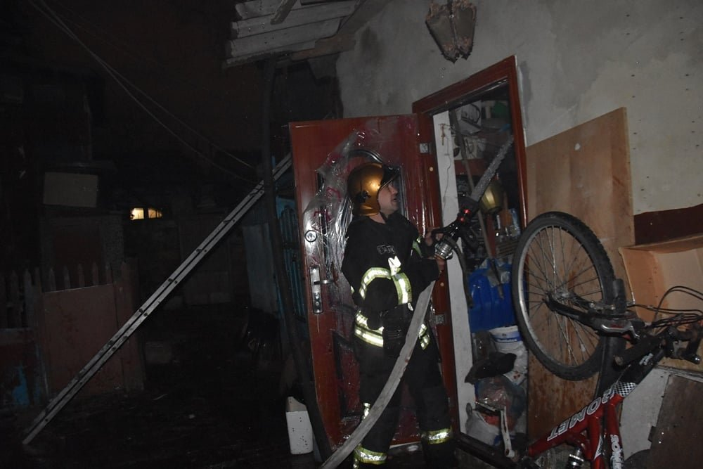 В Одессе горел жилой дом, - ФОТО, фото-3