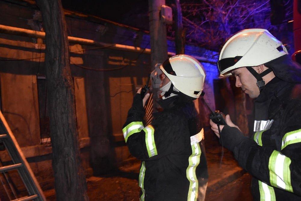В Одессе горел жилой дом, - ФОТО, фото-2