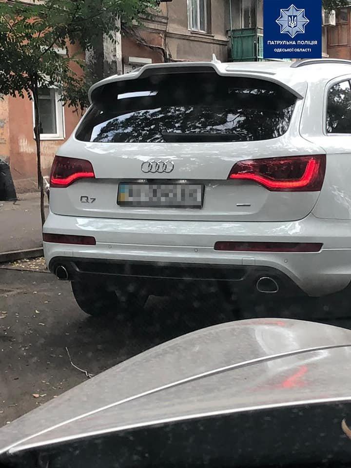 В Одессе задержали автомобиль с поддельными документами, - ФОТО, фото-1