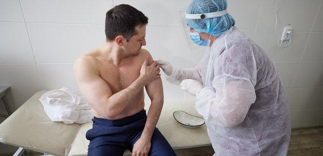 Зеленский вакцинировался от коронавируса, - ФОТО, фото-1