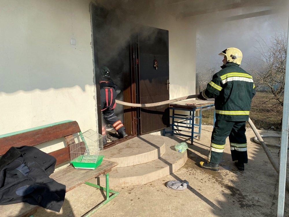 Под Одессой горел частный дом, - ФОТО, фото-2