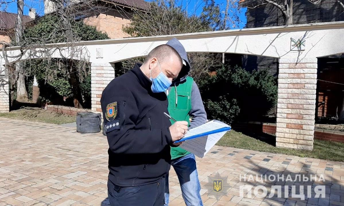 В Одессе на частный дом с квадрокоптера скинули гранату, - ФОТО, фото-1