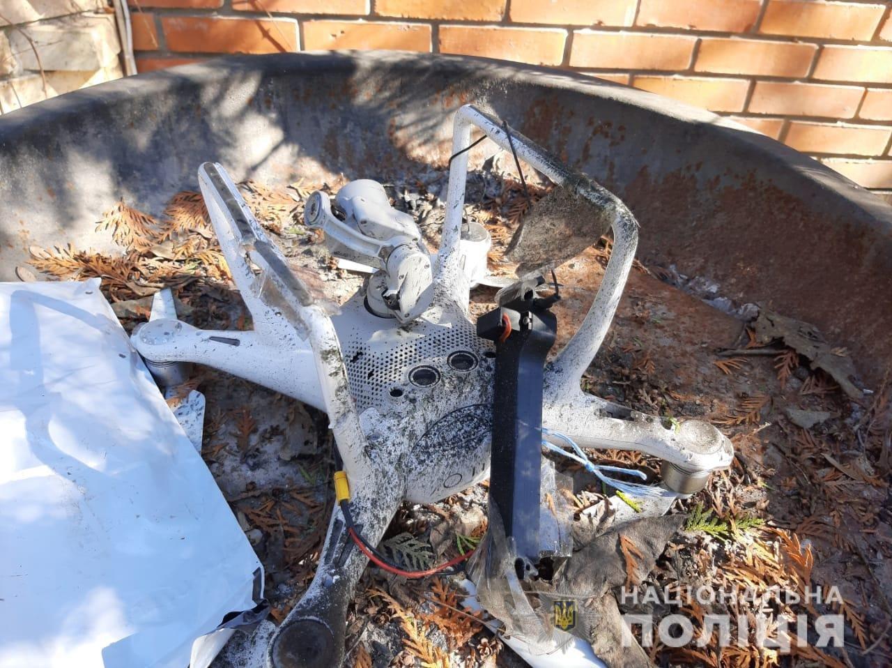 В Одессе на частный дом с квадрокоптера скинули гранату, - ФОТО, фото-2