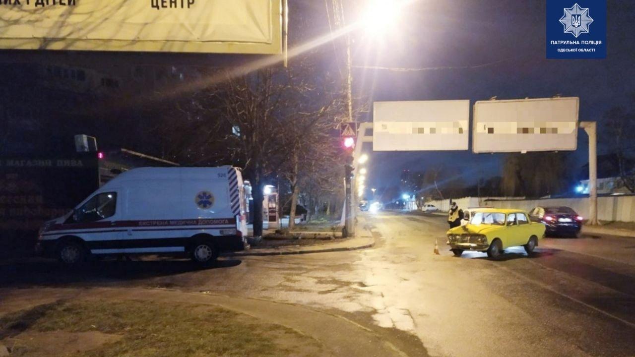 """В Одессе произошло ДТП с участием """"скорой"""" помощи, - ФОТО, фото-1"""
