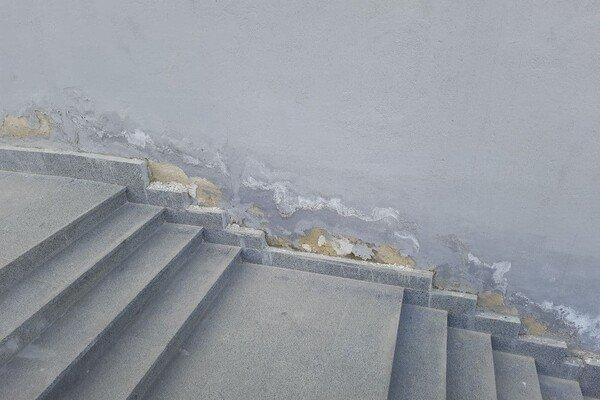 Штукатурка на Потемкинской лестнице осыпается из-за сырости: к лету покрытие обновят, фото-1