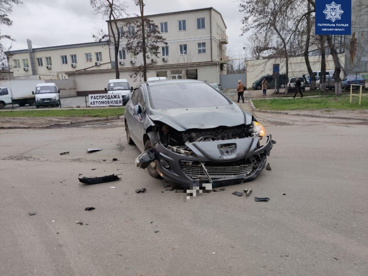 В Одессе в ДТП пострадал мотоциклист, - ФОТО, фото-1