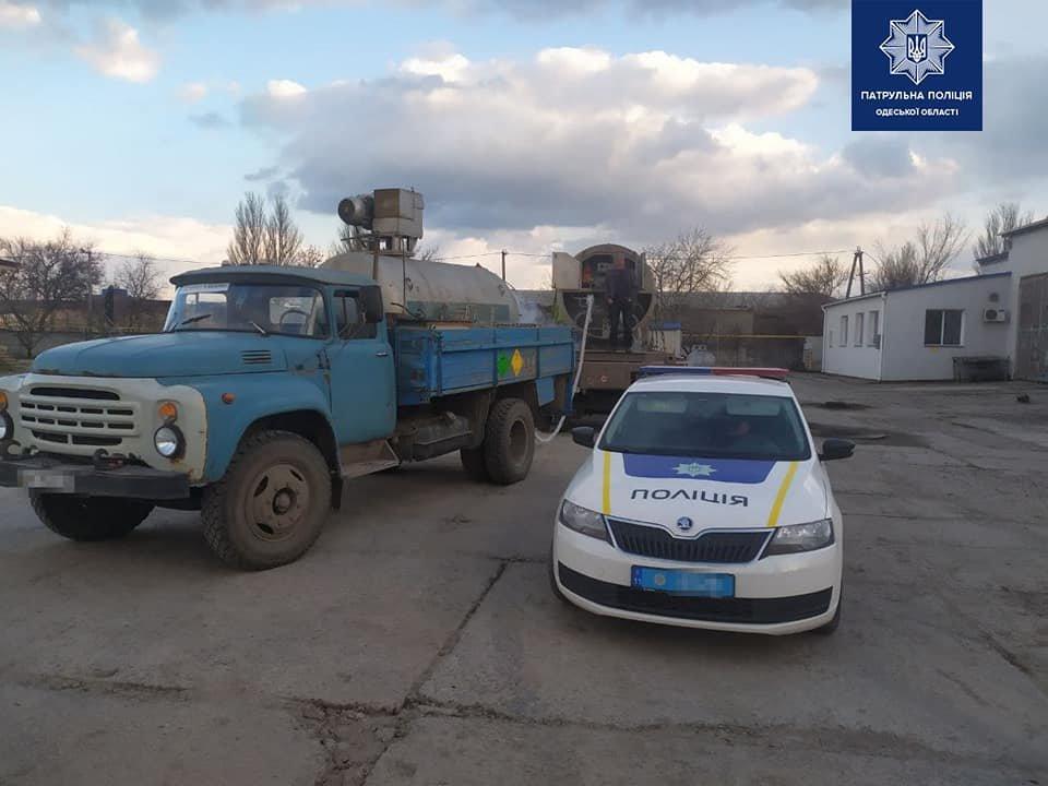 Одесские полицейские помогли доставить медицинский кислород для больных covid-19,- ФОТО, фото-3