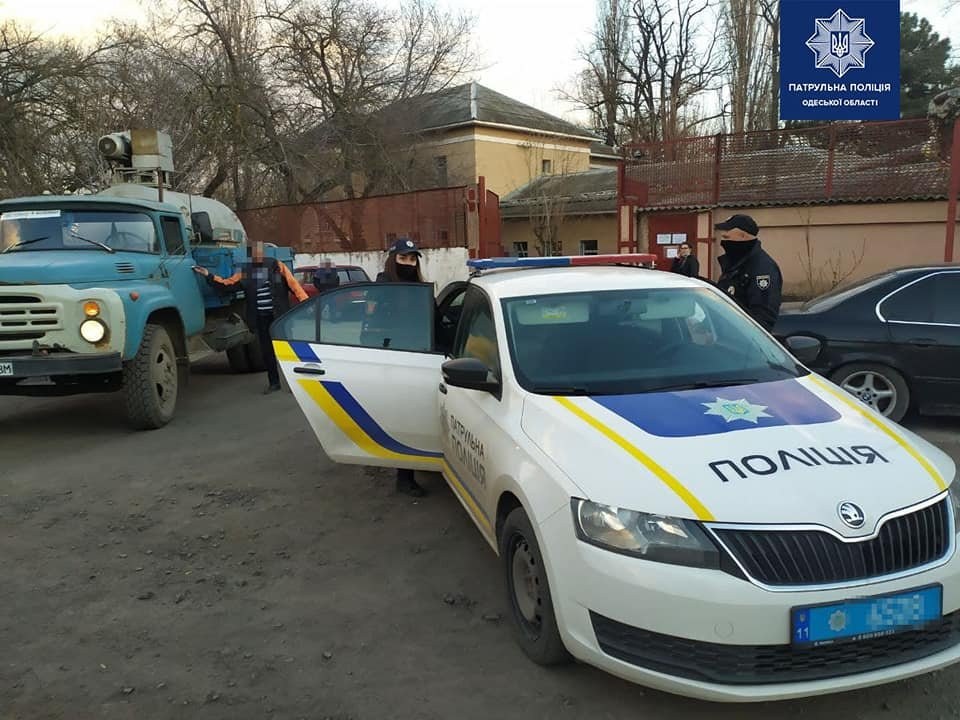 Одесские полицейские помогли доставить медицинский кислород для больных covid-19,- ФОТО, фото-4