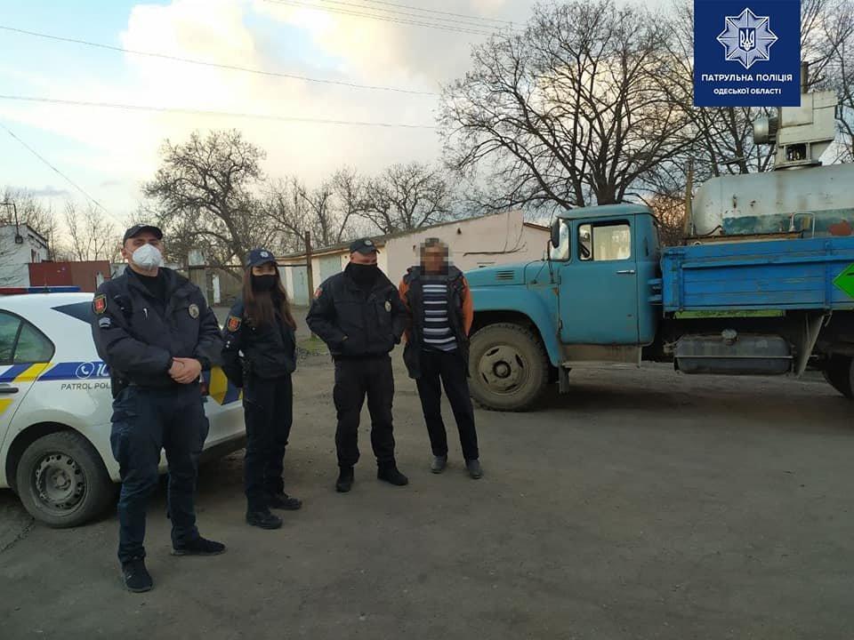 Одесские полицейские помогли доставить медицинский кислород для больных covid-19,- ФОТО, фото-1