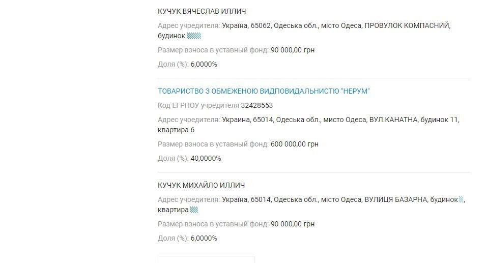 Декларация Кучука: у жены первого вице-мэра совместный бизнес с российским предпринимателем, фото-3
