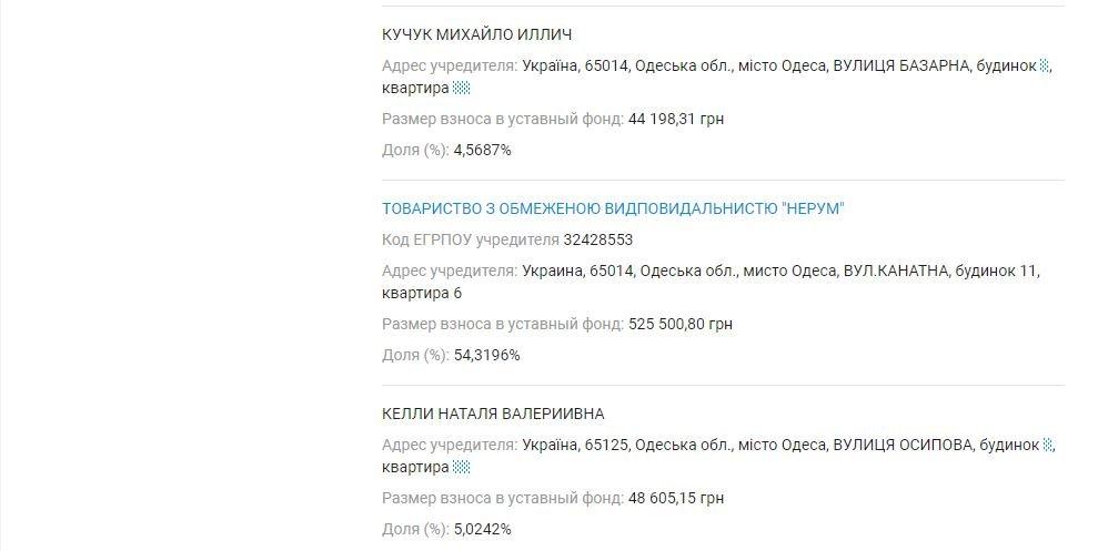 Декларация Кучука: у жены первого вице-мэра совместный бизнес с российским предпринимателем, фото-6