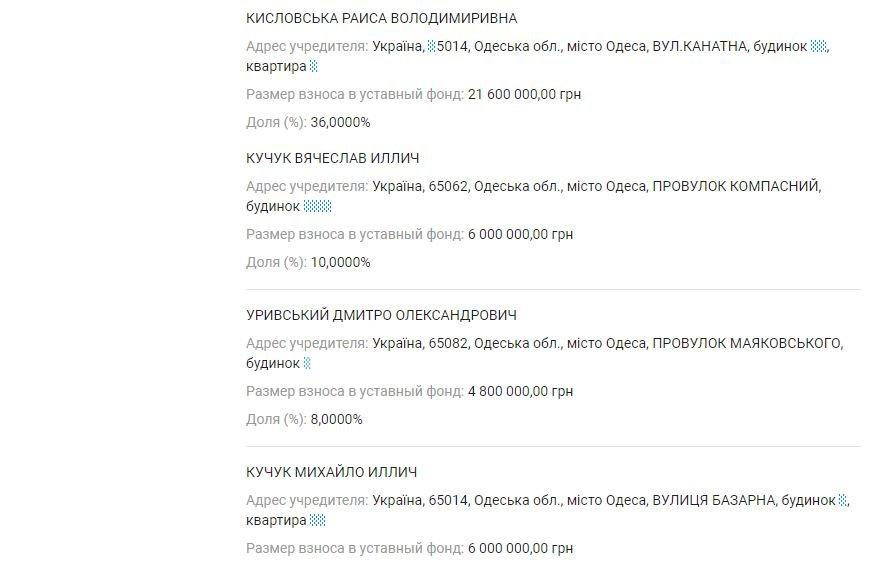 Декларация Кучука: у жены первого вице-мэра совместный бизнес с российским предпринимателем, фото-4