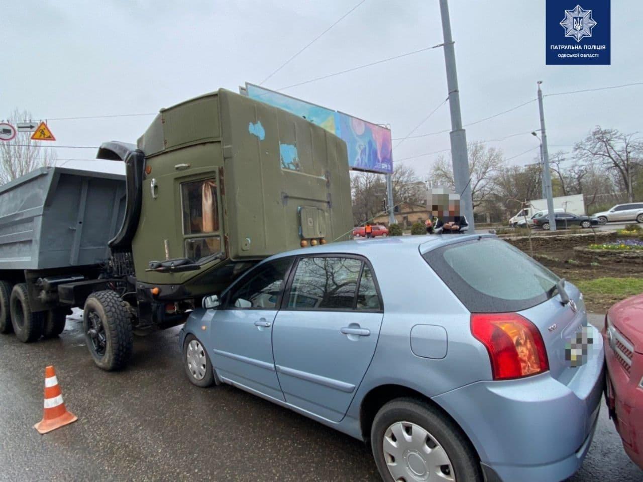 В Одессе произошло тройное ДТП, - ФОТО, фото-1