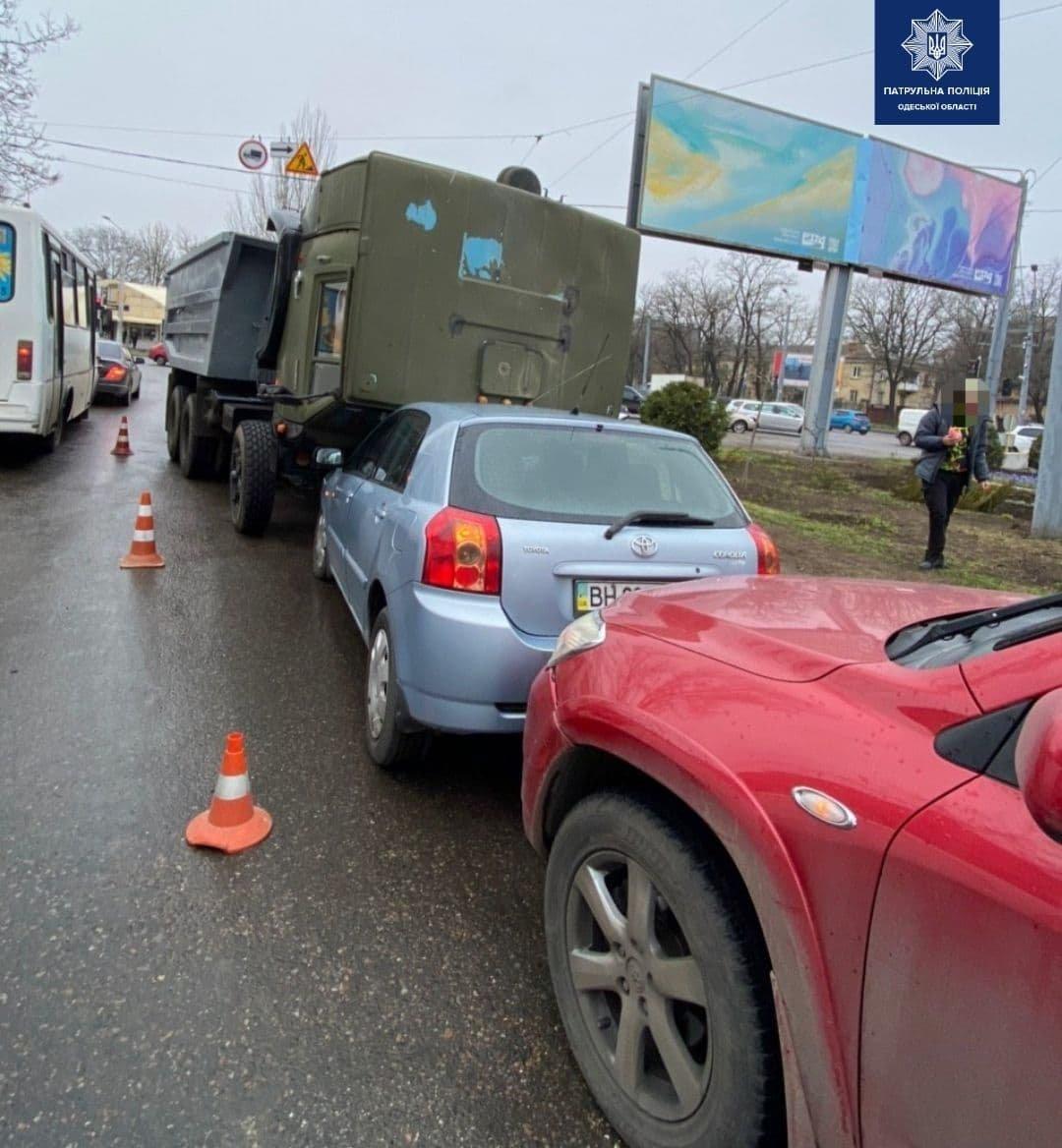 В Одессе произошло тройное ДТП, - ФОТО, фото-2