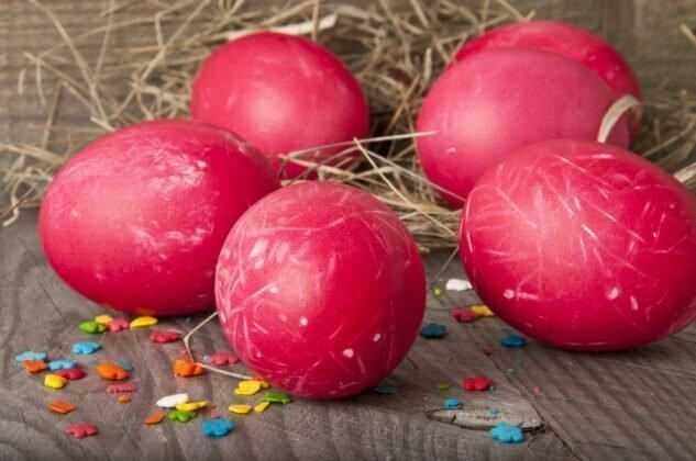 Десять способов покрасить яйца к Пасхе натуральными красителями, фото-7