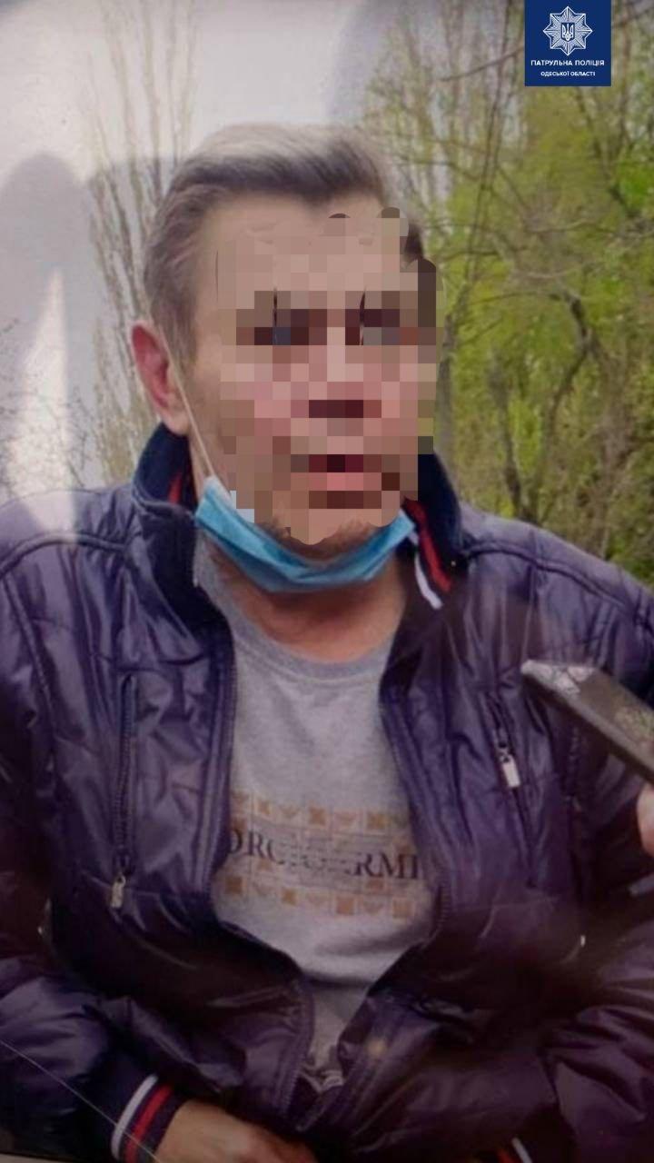 В Одессе автомобиль под управлением пьяного водителя застрял в болоте, - ФОТО, фото-1