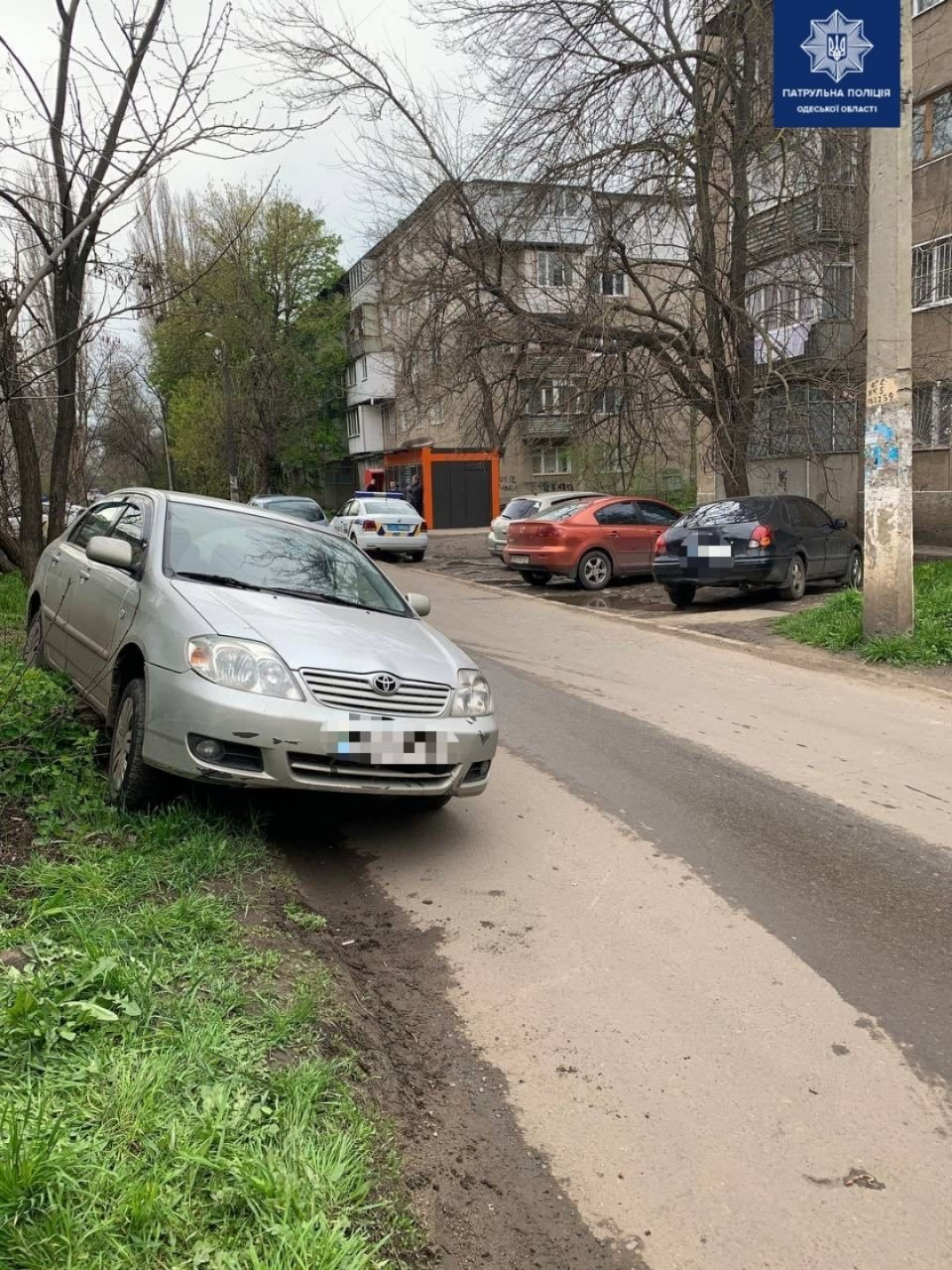 В Одессе автомобиль под управлением пьяного водителя застрял в болоте, - ФОТО, фото-2