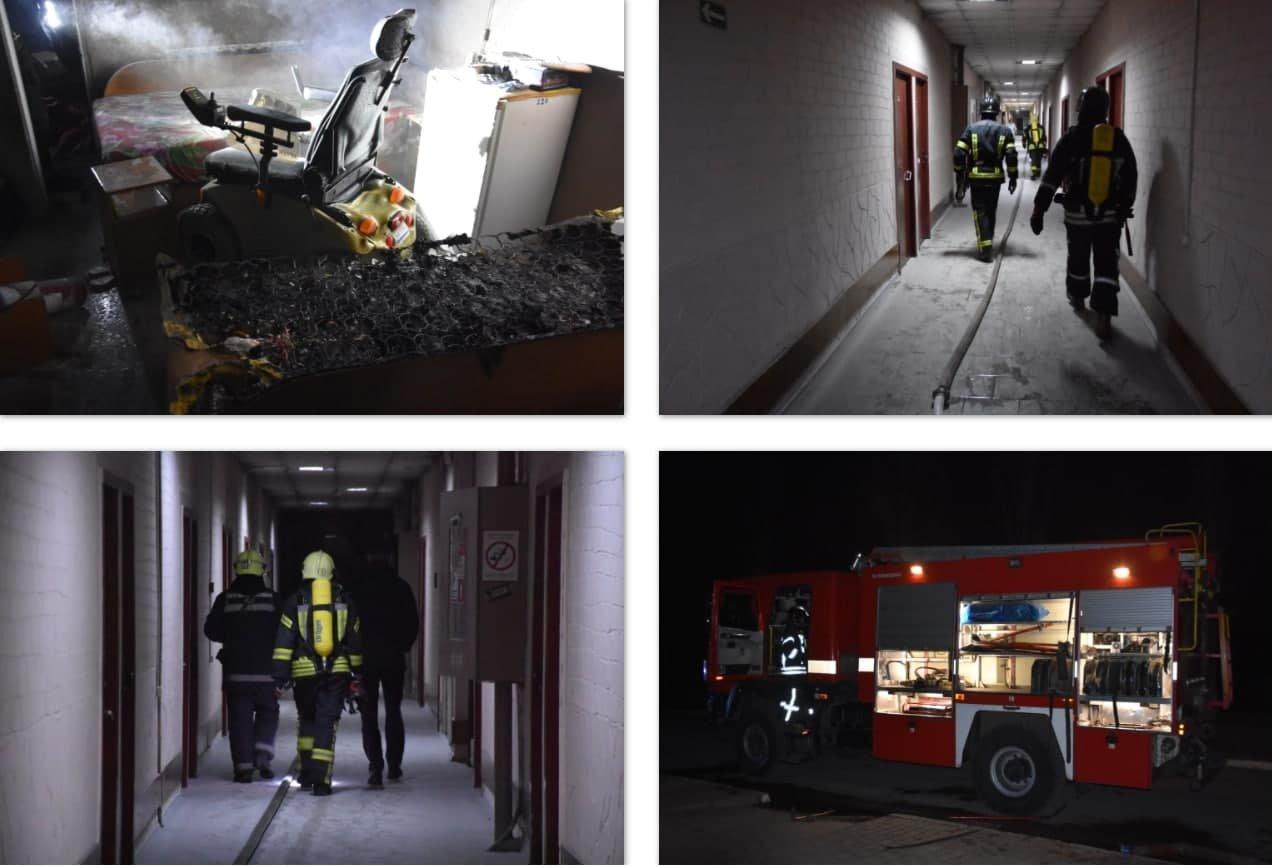 В Одессе тушили пожар в санатории, есть пострадавший, - ФОТО, фото-1