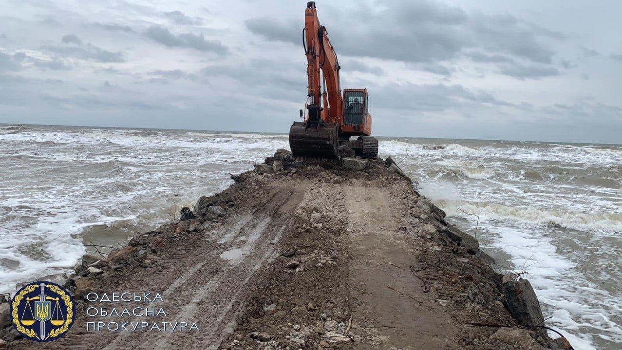 В Одесской области началось незаконное строительство причала, - ФОТО, фото-2