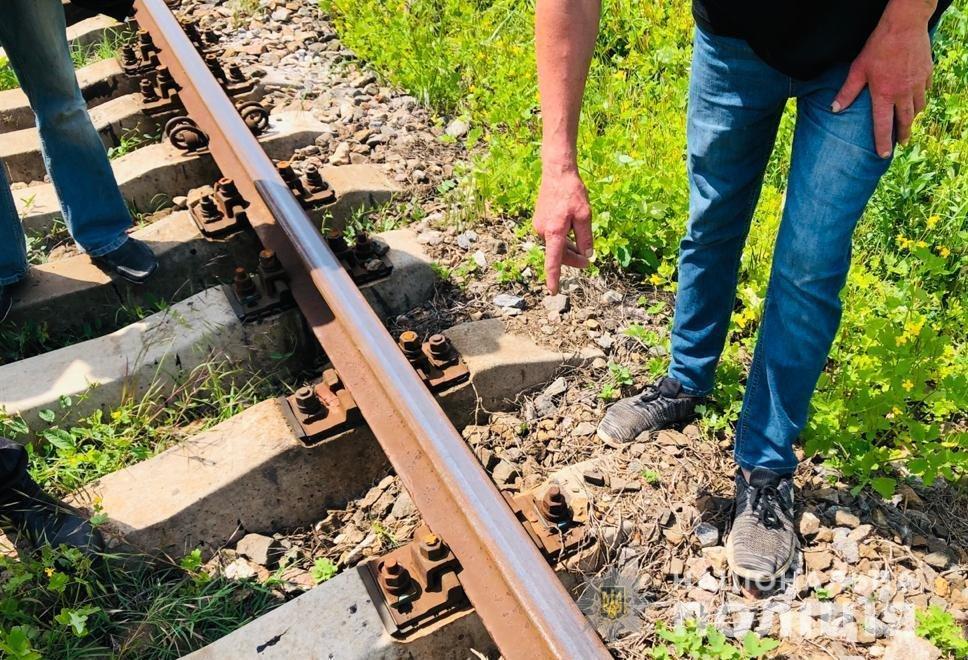 В Одесской области мужчина создавал аварийные ситуации на железной дороге, - ФОТО, фото-1