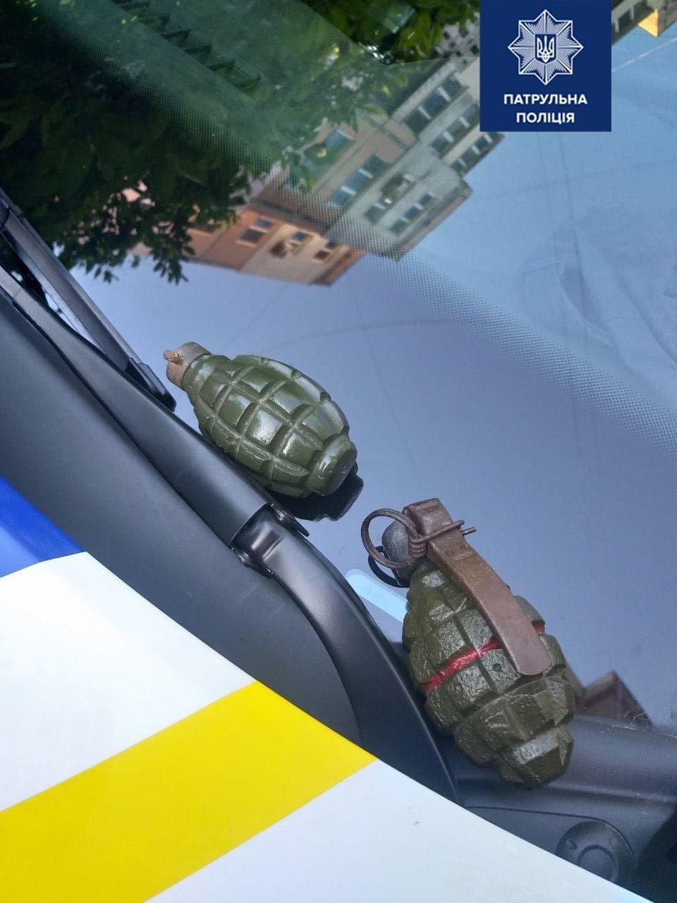 В Одессе полиция задержала мужчину за учебные гранаты, - ФОТО, фото-1