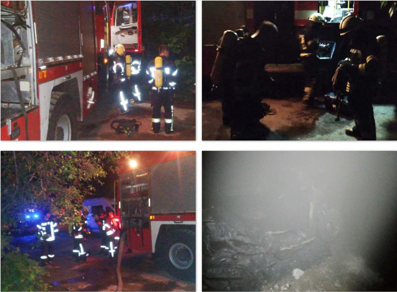 В подвале жилого дома в Одессе загорелся мопед, - ФОТО, фото-1