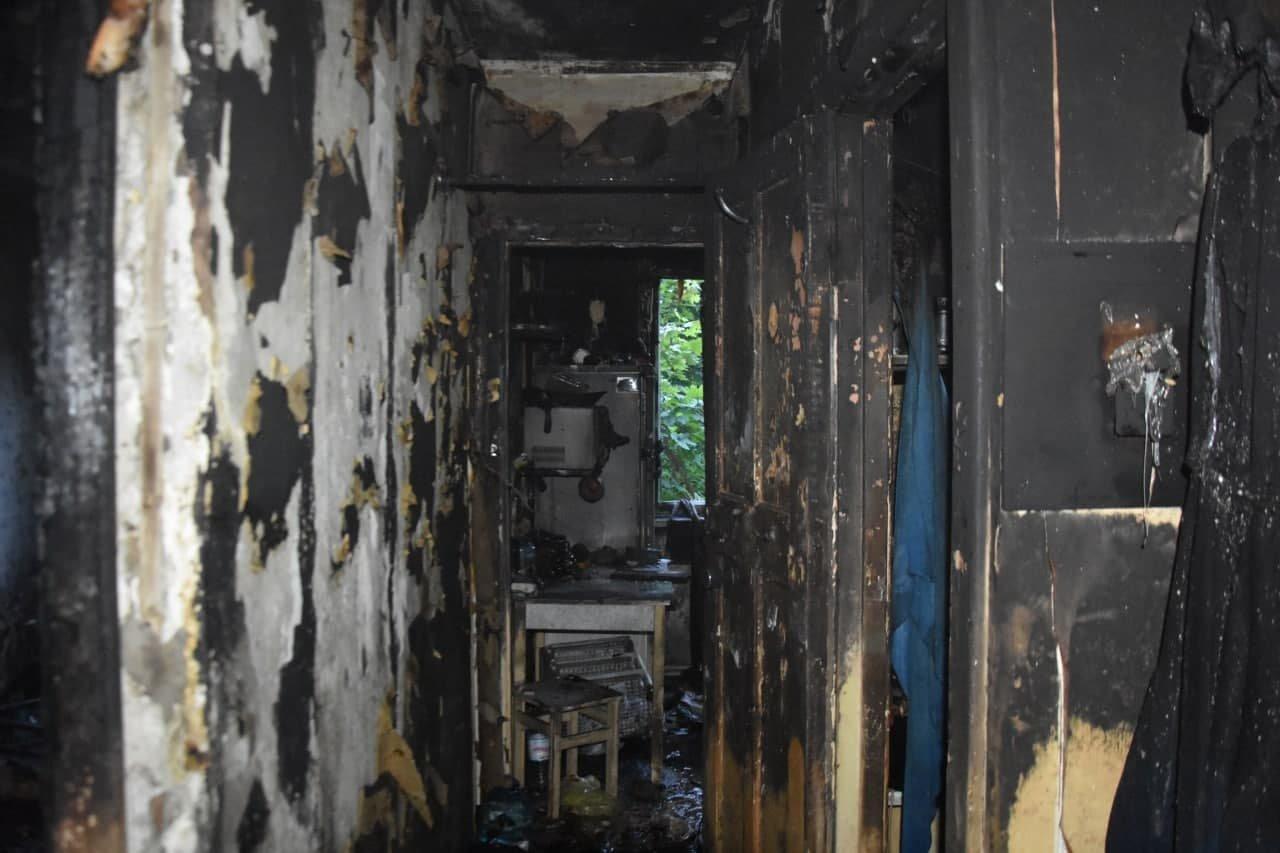 В Одессе на Балковской горела квартира, - ФОТО, фото-2