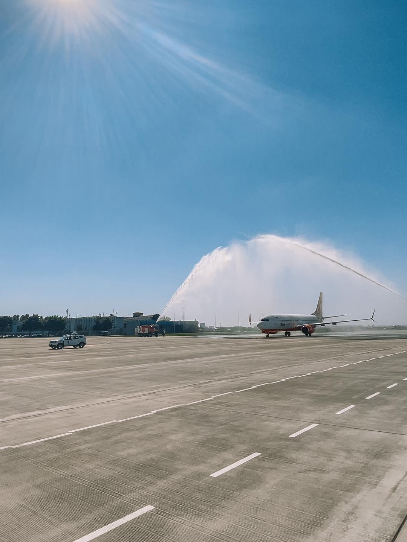 Одесский аэропорт принял первый рейс на новом перроне, - ФОТО, фото-3