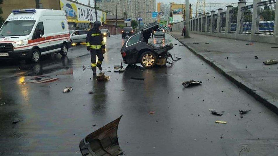 ДТП в Одессе: автомобиль разорвало на части, двое людей погибли,- ФОТО, фото-4
