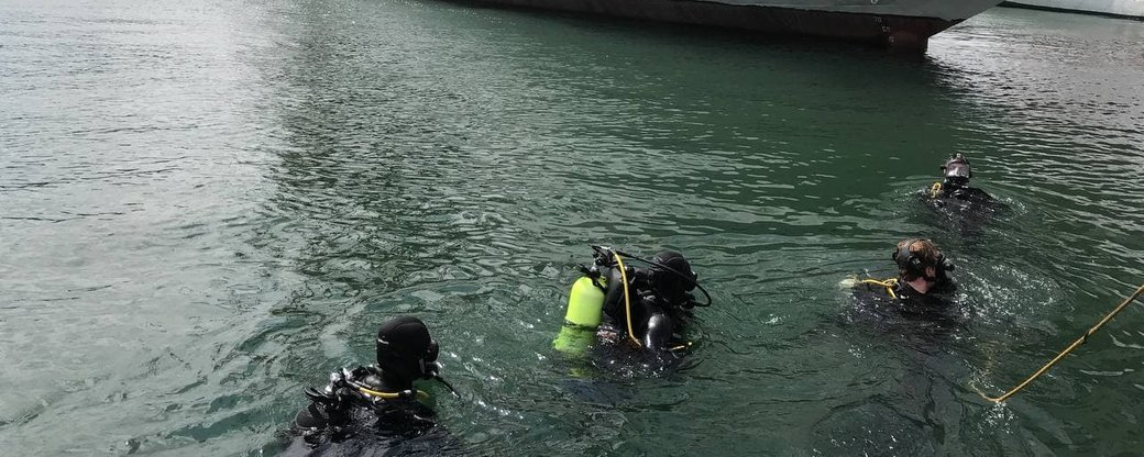 """""""Си Бриз-2021"""" в Одессе: военные поднимали затонувшее судно, - ФОТО, фото-1"""