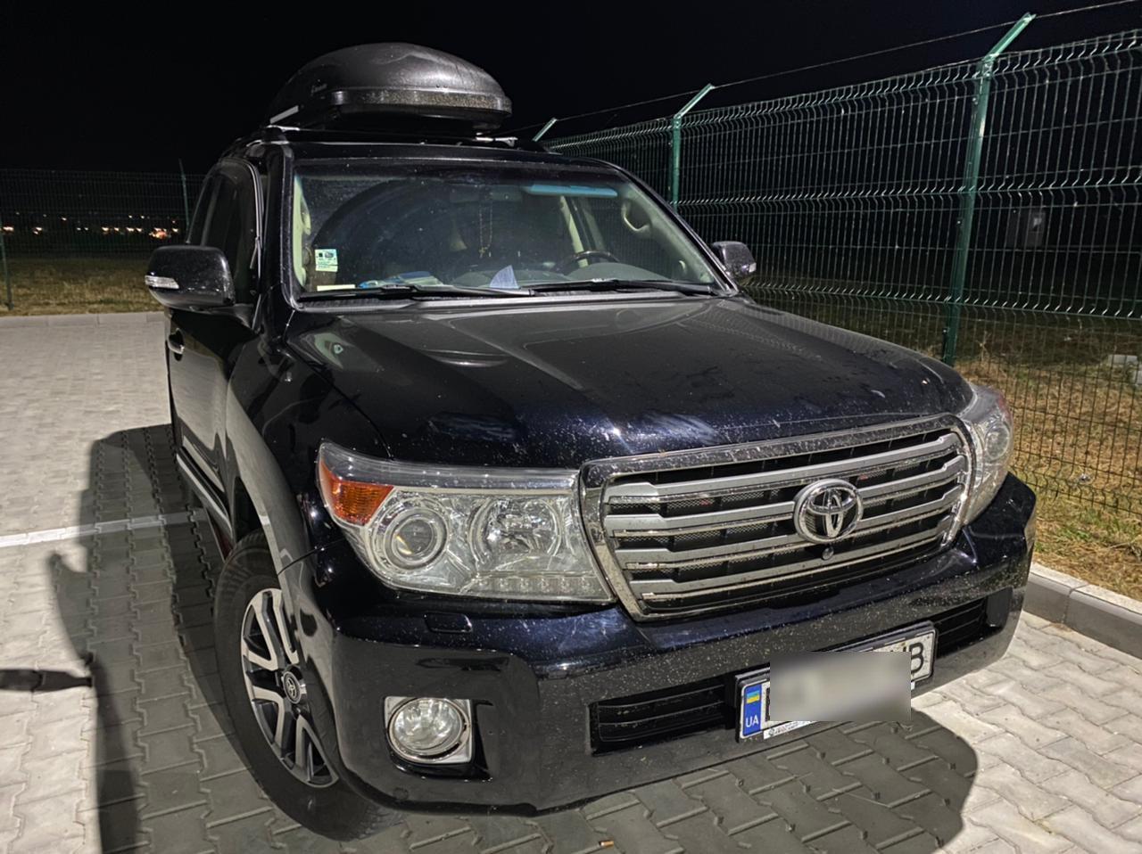 В Одесской области задержали элитный внедорожник, который искал Интерпол, - ФОТО, фото-1