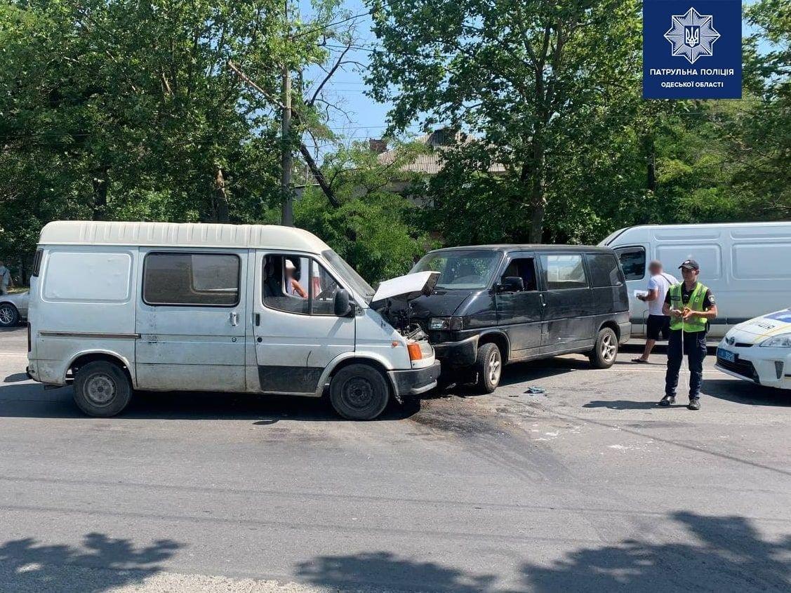 В Одессе произошло ДТП с четырьмя автомобилями, - ФОТО, фото-1