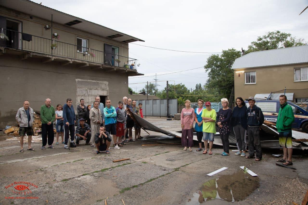 В одесском приюте для пожилых людей из-за ливня сорвало крышу, - ФОТО, фото-13