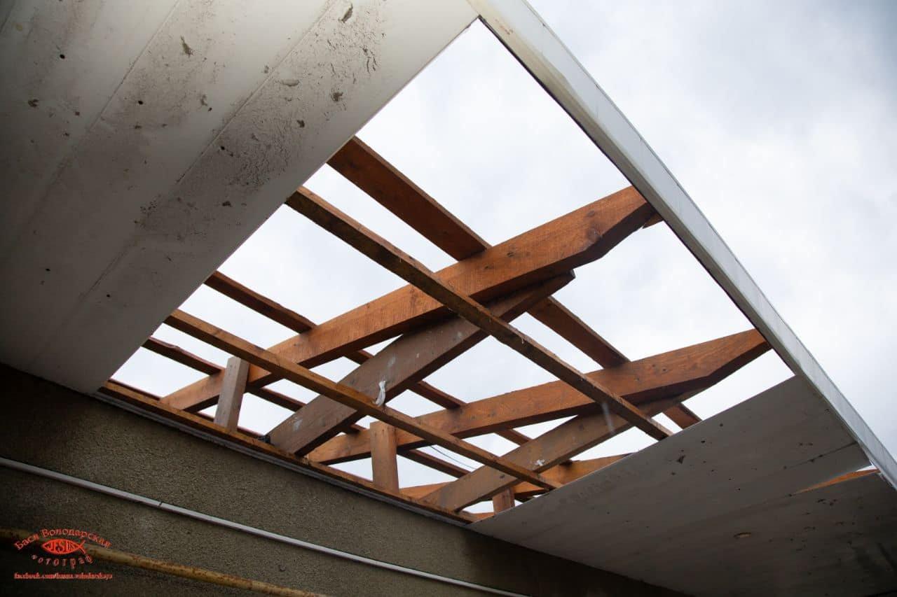 В одесском приюте для пожилых людей из-за ливня сорвало крышу, - ФОТО, фото-10