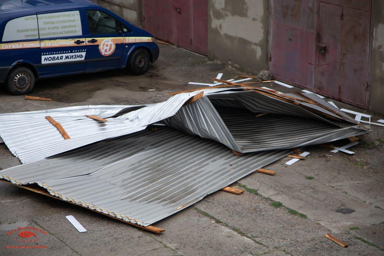 В одесском приюте для пожилых людей из-за ливня сорвало крышу, - ФОТО, фото-9
