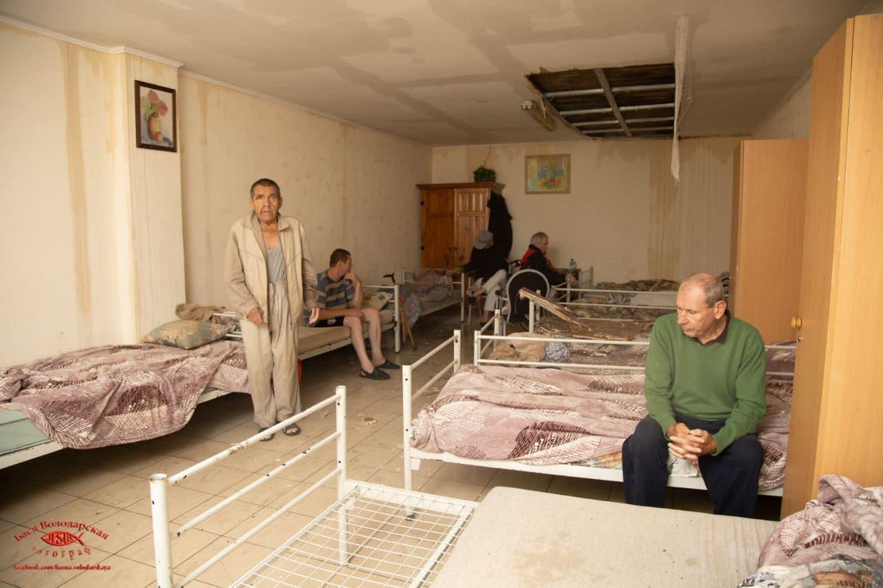В одесском приюте для пожилых людей из-за ливня сорвало крышу, - ФОТО, фото-8