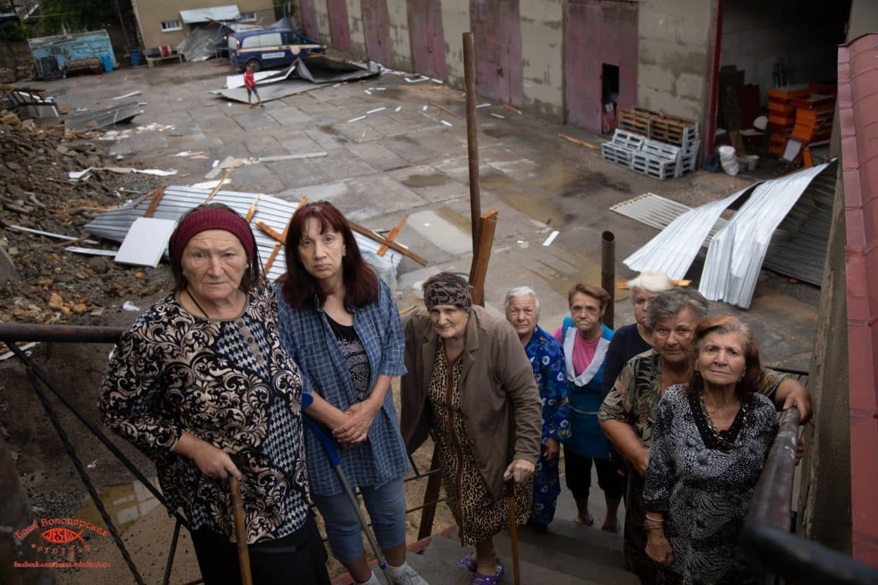 В одесском приюте для пожилых людей из-за ливня сорвало крышу, - ФОТО, фото-6