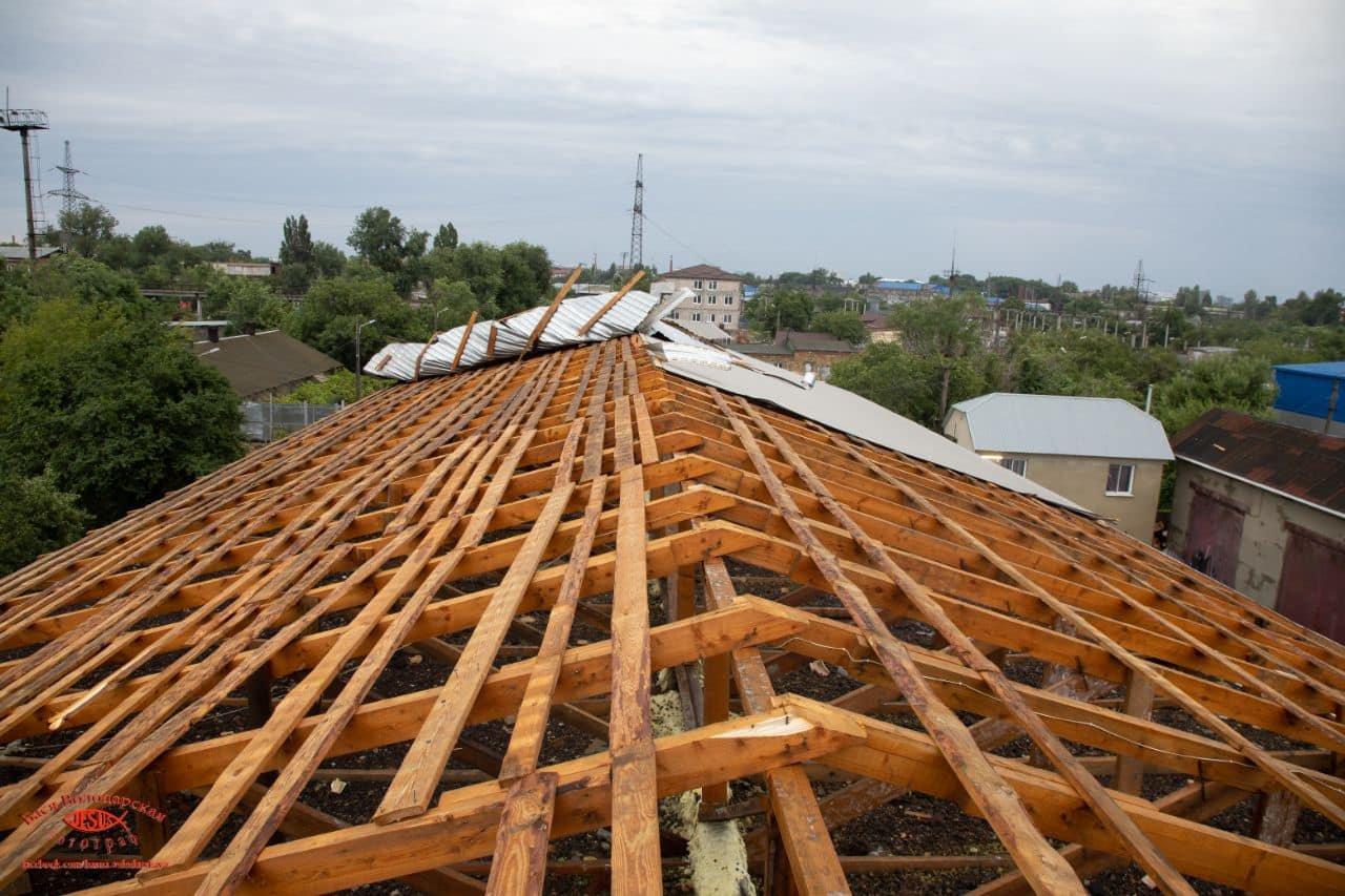 В одесском приюте для пожилых людей из-за ливня сорвало крышу, - ФОТО, фото-4