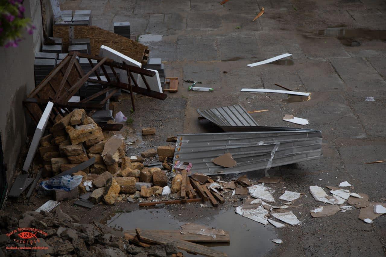 В одесском приюте для пожилых людей из-за ливня сорвало крышу, - ФОТО, фото-3