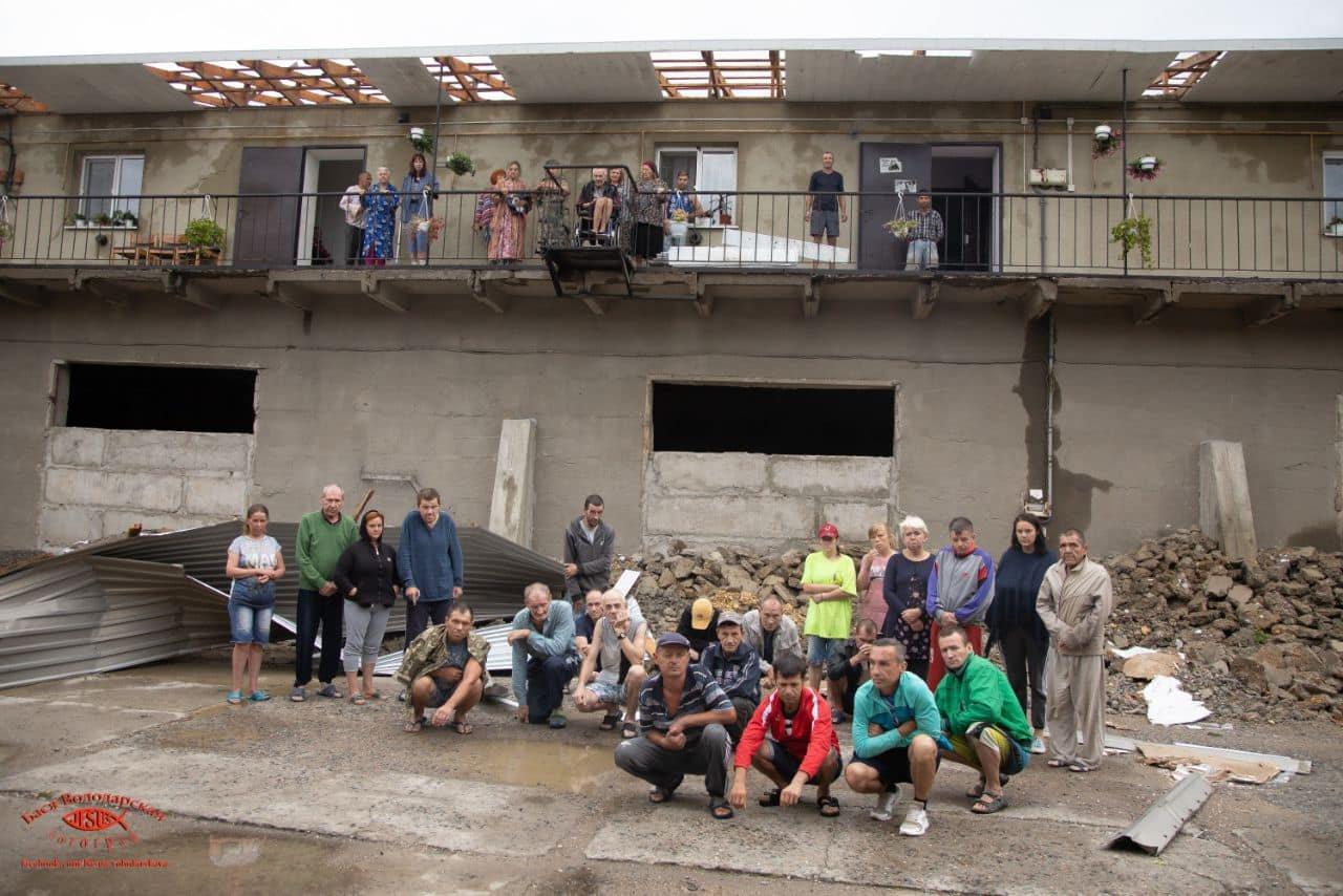 В одесском приюте для пожилых людей из-за ливня сорвало крышу, - ФОТО, фото-1