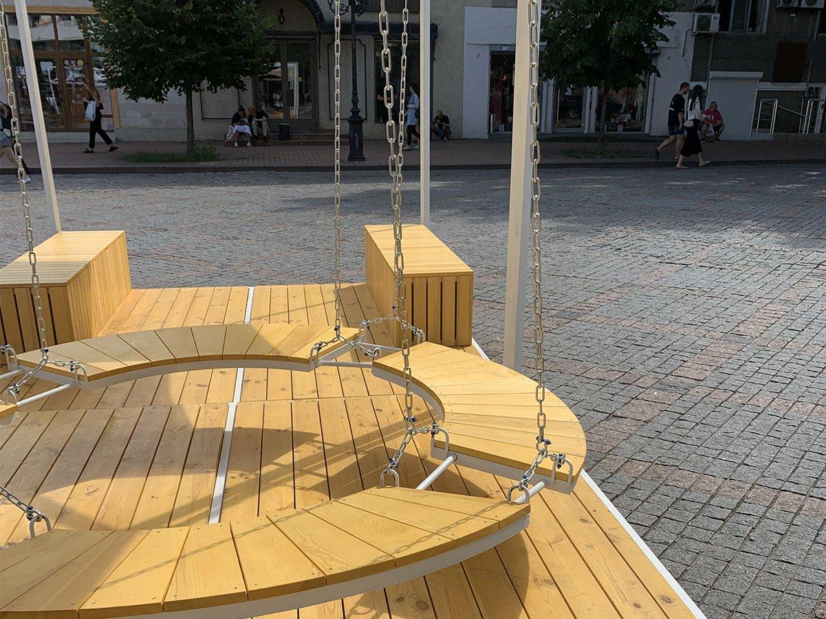 Трансформація Грецької площі завершилася: трансформована локація чекає на відвідувачів, фото-4