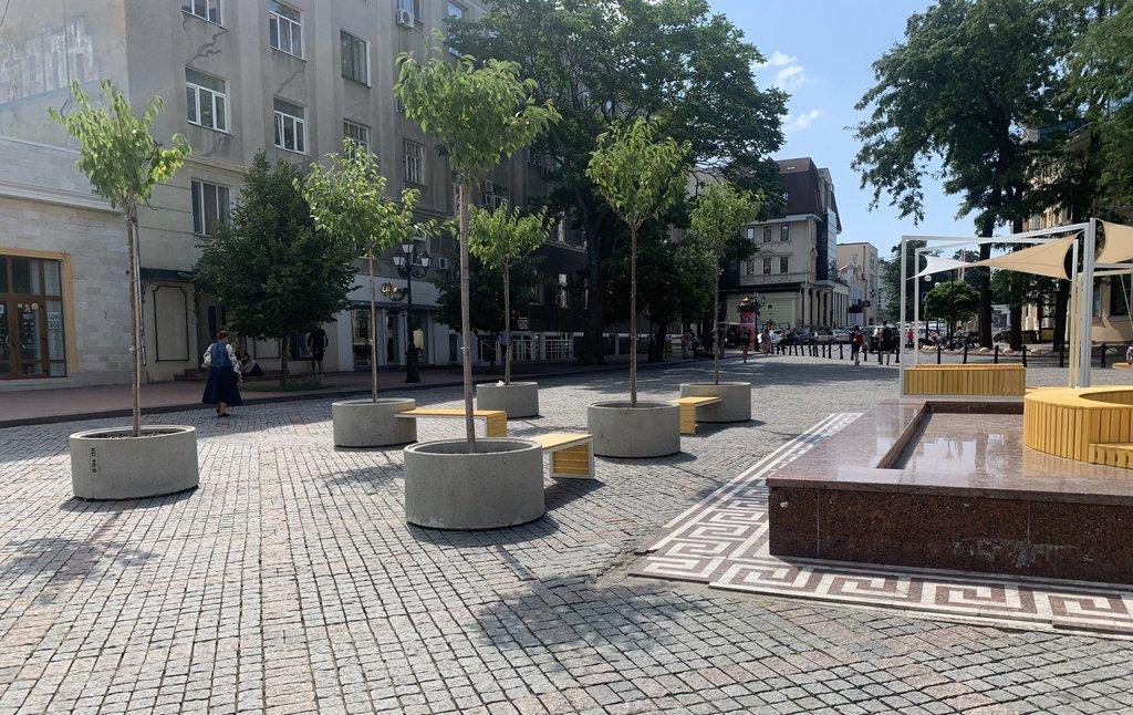 Трансформація Грецької площі завершилася: трансформована локація чекає на відвідувачів, фото-3