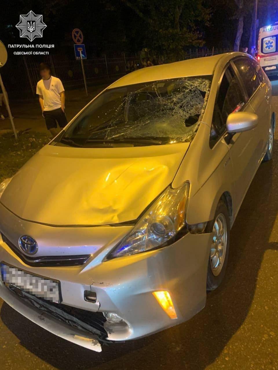 На проспекте Шевченко в Одессе автомобиль сбил подростка, - ФОТО, фото-1